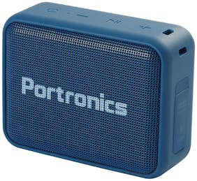 Portronics DYNAMO Bluetooth Portable Speaker ( Blue )