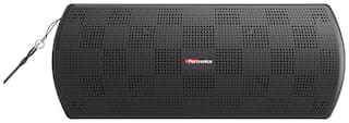 Portronics Pure Sound Plus POR-779 Portable Bluetooth Stereo Speaker with AUX-IN, In-built mic. & U Disk Play -6W (Black)