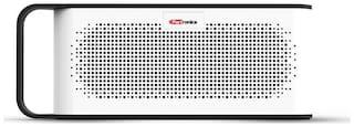 Portronics SoundGrip Portable Bluetooth 3.5mm AUX port and aux cable, Wireless Stereo 6W Speaker (black)