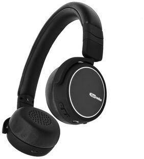 Portronics Muffs R POR-004 Wireless Foldable Premium Bluetooth Headphone/Headset with Mic & Leather cusion for extra comfort(Black)