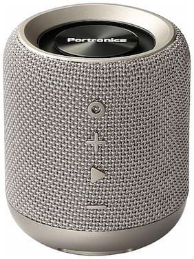 Portronics SOUNDDRUM POR 821 Portable Bluetooth Speaker ( Grey )