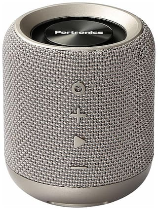 Portronics SOUNDDRUM POR 821 Bluetooth Portable Speaker ( Grey )