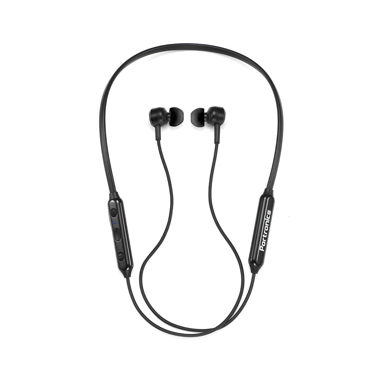 Portronics POR-1119 In-Ear Bluetooth Headset ( Black )