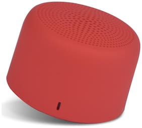 Portronics PICO Bluetooth Portable Speaker ( Red )