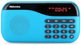 Portronics PLUGS POR-141 Wired Portable Speaker ( Blue )