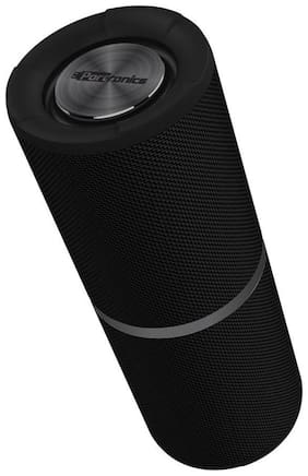 Portronics Breeze POR-795 Bluetooth Wireless Stereo Speaker with TWS Function,FM, In-built Mic, AUX-In & MicroSD Card Support II IPx6 Water Resistant - 8W (Black)