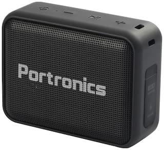 Portronics DYNAMO Bluetooth Portable Speaker ( Black )