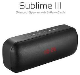 Portronics SUBLIME III Portable Bluetooth Speaker ( Black )
