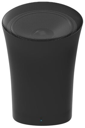 Portronics Sound Pot POR-280 Wireless Bluetooth Speaker with Aux Port with Aux & In-Built Mic -3W(Black)