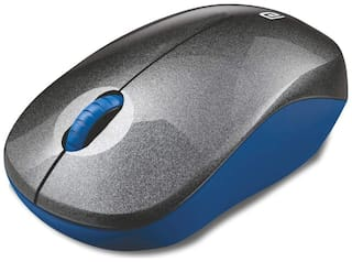 Portronics Toad 12 Wireless Mouse ( Blue & Black )