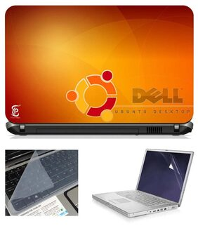 Print Shapes 15.6 Inch Laptop Skin With Screen Protector And Key Guard