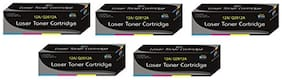 Print Star 12A / Q2612A Pack of 5 Compatible for HP 12A Toner Cartridge For HP LaserJet 1010  1012  1015  1018  1020  1022  1022n  3020  3030
