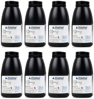 ProDot Kobra 3688 Laser Toner Powder Compatible for HP 35A, 36A, 88A, 278A, 285A, Canon 337. 912, 925 (75g x Pack of 8)