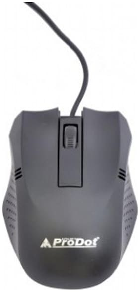 Prodot Wired Mouse ( Black )