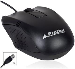 Prodot MU253s Wired Mouse ( Black )