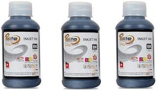 ProDot Prolite IP-HQ05-PK(BK) Inkjet Printer Cartridge Refill Ink for HP (Black - 3x100ml Pack)