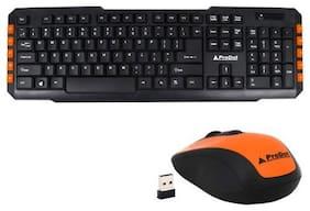 Prodot TLC-107+165 (Wireless) Multimedia Keyboard and Mouse Combo (ORANGE)