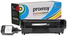 proffisy 12A Black Toner Cartridge