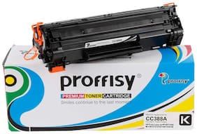 Proffisy 88A for HP CC388A Toner Cartridge Compatible HP Laser Printers P1007  P1106  P1108  P1008  M1213nf MFP  M1136(1 pcs)