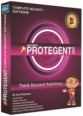 Protegent 360 Complete Security (1 User/1 Year)