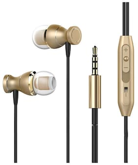 PTron Magg InEar Headphones with Mic