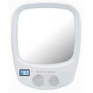 QFX R70S Shower Radio Mirror with Bluetooth Speaker