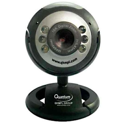 Quantum QHM 495 LM Web Camera (Black)