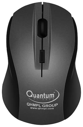 Quantum QHM262W Wireless Mouse ( Black )