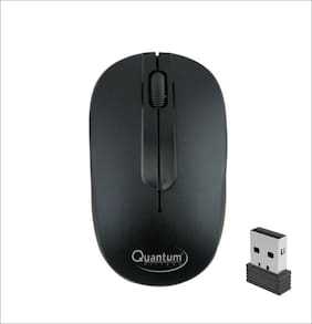 Quantum QHM271 Wireless Mouse ( Black )