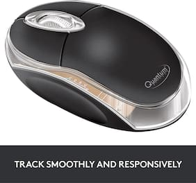 Quantum QHMPL Wired Mouse ( Black )