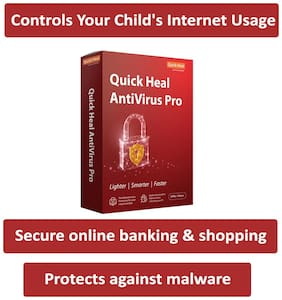 Quick Heal Antivirus Pro (2 User,3 Year)
