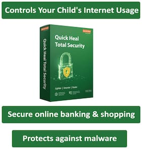 Quick Heal Anti Virus ( 10 PC , 3 yr )