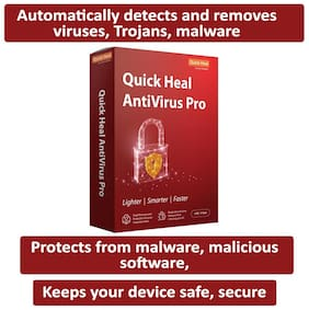 Quick Heal Antivirus Pro (1 User,1 Year)
