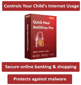 Quick Heal Anti Virus Pro ( 1 PC , 3 yr )