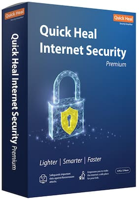 Quick Heal Internet security ( 5 pc , 3 years )