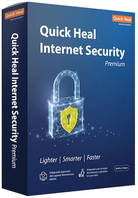 Quick Heal Internet security ( 10 pc , 3 years )
