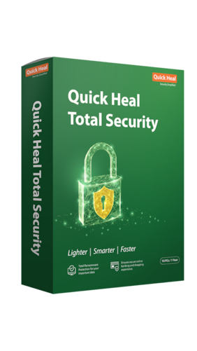 Quick Heal Total security ( 10 pc , 1 year )