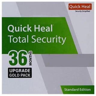 Quick Heal Total security ( 1 pc , 3 years )