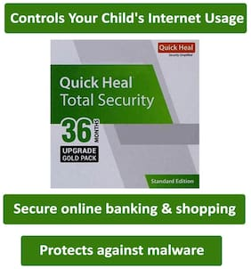 Quick Heal Total Security (1 User,3 Year) Upgrade Pack
