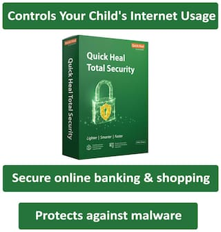 Quick Heal Total Security ( 2 PC , 3 yr )