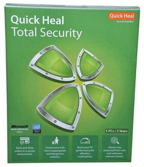 Quick Heal Total Security 5 Pc 3 Years