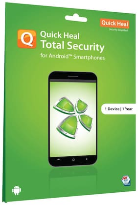 Quick Heal Total Security ( 1 PC,1 yr ) For Android