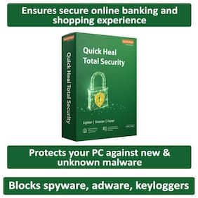 Quick Heal Total Security ( 5 PC , 3 yr )