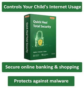 Quick Heal Total Security ( 2 PC , 3 yr ) Security Softwares