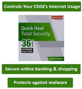 Quick Heal Total Security ( 1 PC , 3 yr )