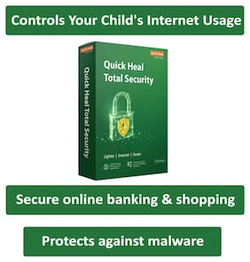 Quick Heal Total Security ( 3 PC , 3 yr )