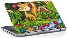 RADANYA Animal Laptop Skin Vinyl Laptop Decal 15.6 (Multi)