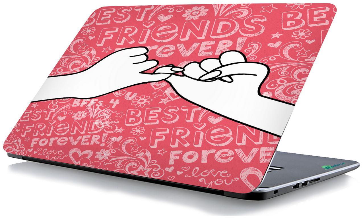 Radanya Best Friends Laptop Skin  Laptop Decal 15.6