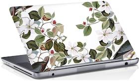 RADANYA Floral Laptop Skin Vinyl Laptop Decal 15.6