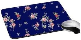 RADANYA Floral Mouse Pad Anti Skid Wrist Support Pad for Computer, Laptop